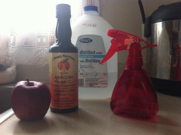 Apple Cider face toner - Needed Ingredients