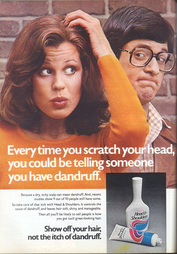 1970's Head & Shoulders Shampoo by twitchery