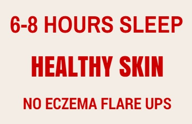 sleep require for eczema
