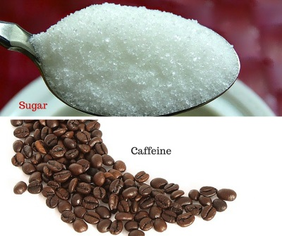 Sugar and Caffeine are stimulants in Eczema